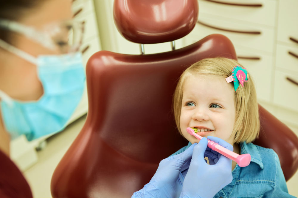 Child Visit a Dentist