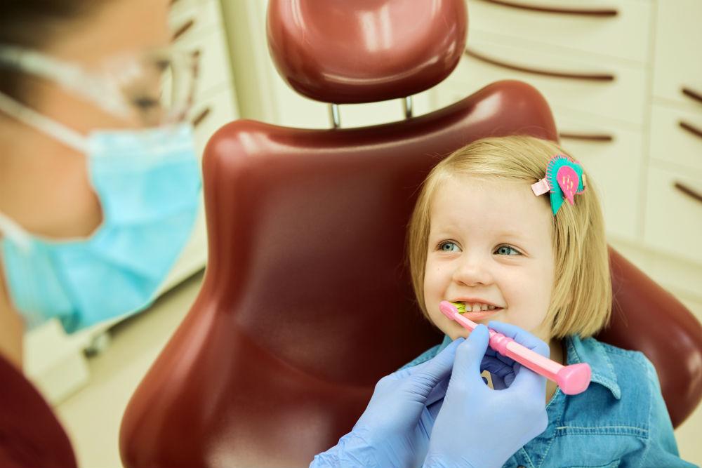 Child Visit a Dentist